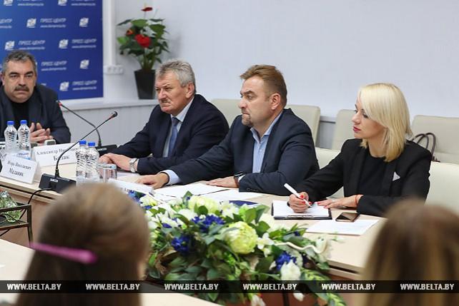 Пресс-конференция по итогам участия белорусской делегации в Пекинской книжной ярмарке прошла в Минске