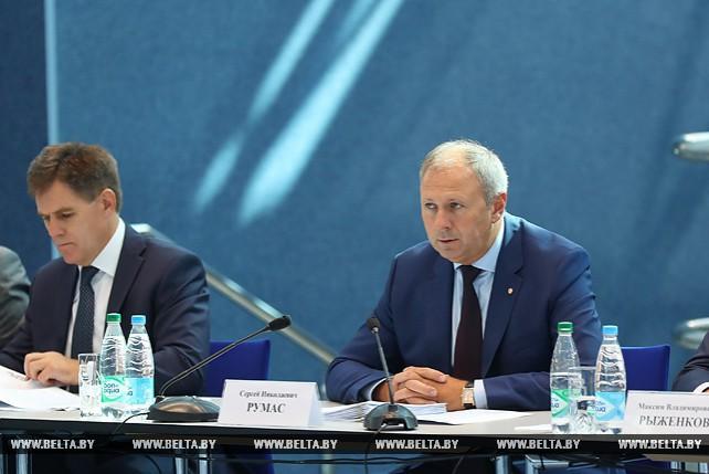 Румас провел выездное заседание Республиканского организационного комитета по подготовке и проведению II Европейских игр 2019 года в Беларуси