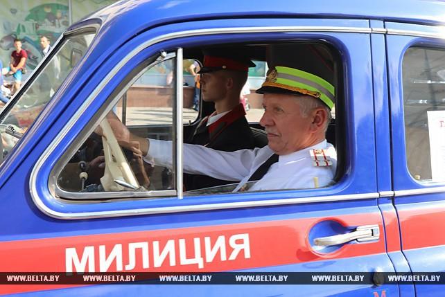 Витебская милиция празднует 100-летие