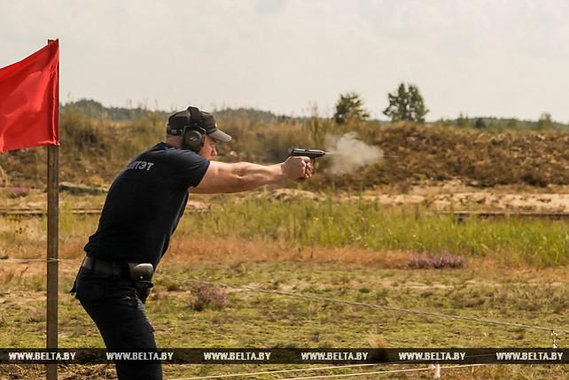 Чемпионат Следственного комитета по пулевой стрельбе прошел под Брестом