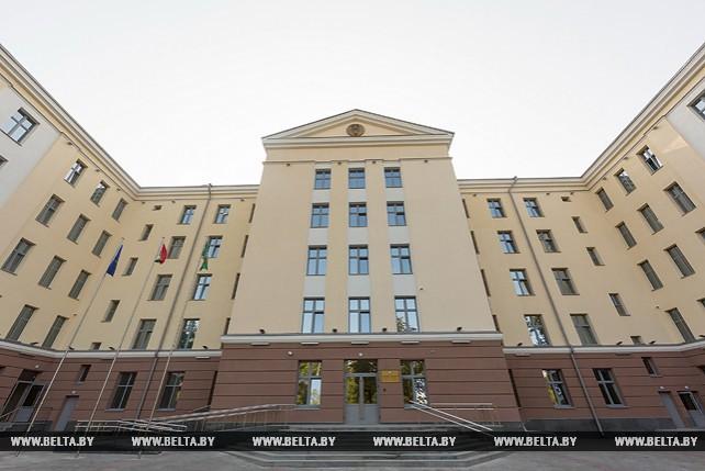 В Гомеле после реконструкции открылось здание областного управления Следственного комитета