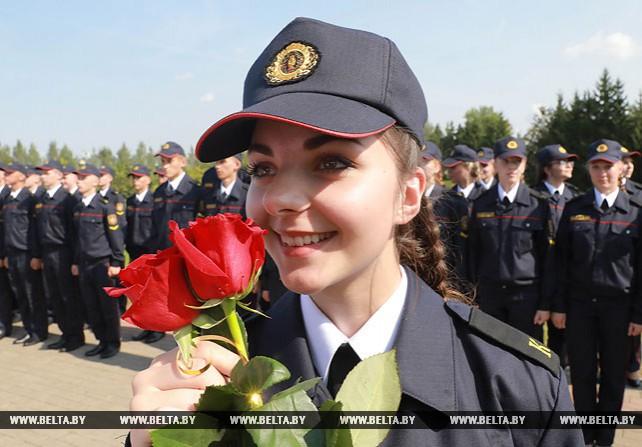 Курсанты Могилевского института МВД принесли присягу