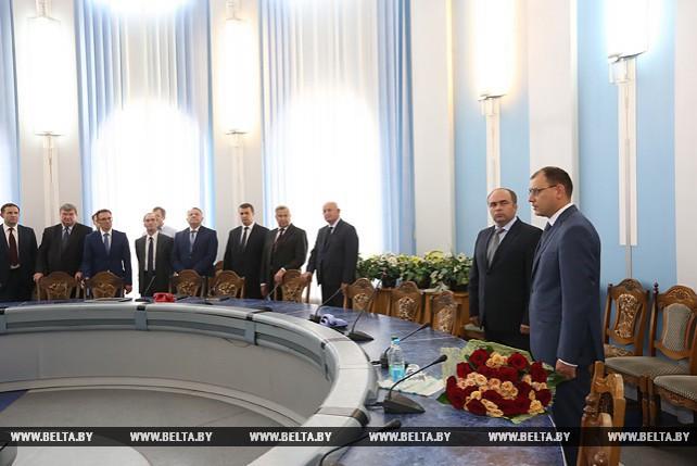 Нового министра представили коллективу Министерства энергетики
