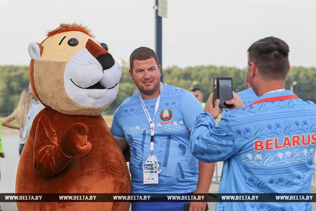 В Бресте дан старт молодежному чемпионату Европы по гребле