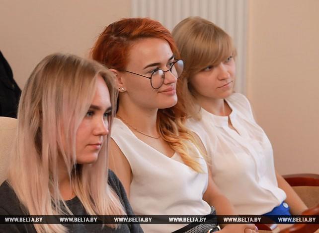 Мясникович встретился со студентами и преподавателями Белорусско-Российского университета