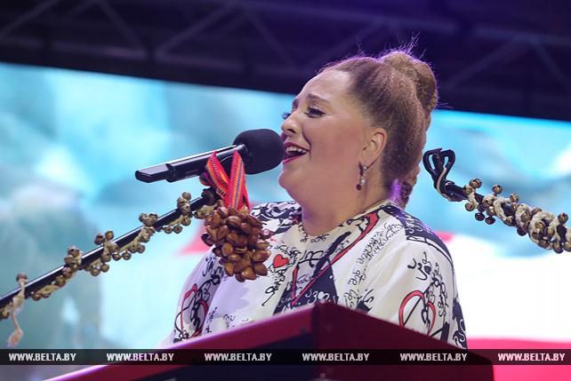 Нино Катамадзе выступила в Минске