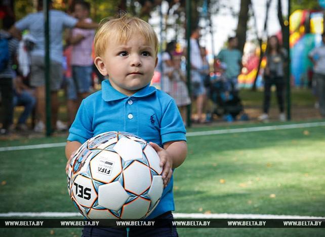Новое мини-футбольное поле открыли в Иваново
