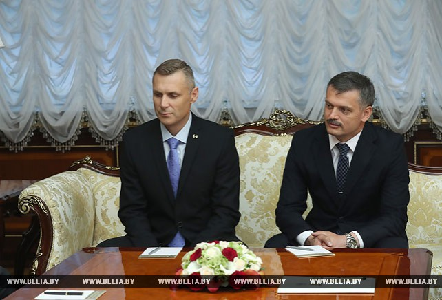 Лукашенко и Кочиянчич сверили часы в вопросе подготовки к II Европейским играм