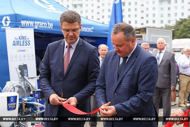 """Строительная выставка """"Будпрагрэс-2018"""" открылась в Минске"""