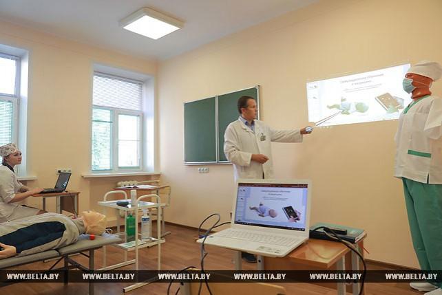 В Могилевском медколледже начала работать лаборатория симуляционного обучения