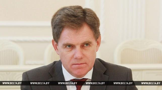 Петришенко встретился с президентом Европейской легкоатлетической ассоциации