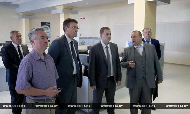 """Турчин посетил РУП """"Белтелеком"""""""