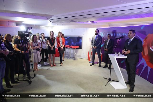"""Открытие интерактивной выставки """"Вселенная интернета"""" в Национальной библиотеке Беларуси"""