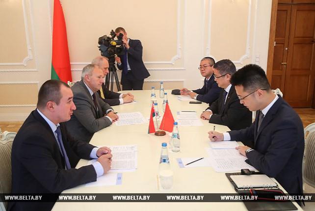 Румас встретился с послом КНР