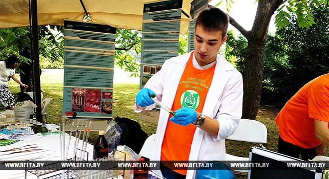 Фестиваль науки в Ботаническом саду