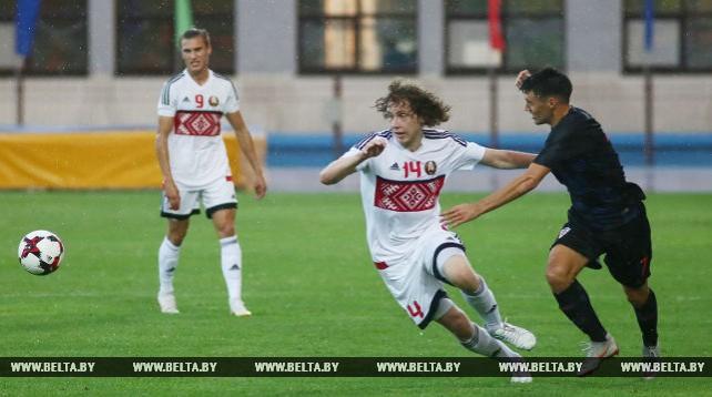 Молодежная сборная Беларуси по футболу уступила Хорватии в квалификации к ЧЕ