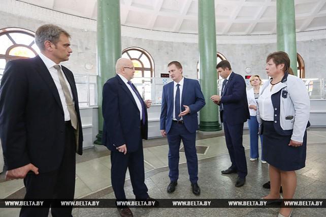 """Турчин ознакомился с работой """"Белпочты"""""""