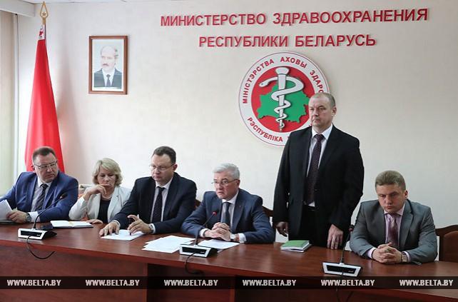 Новых руководителей представили коллективу Минздрава