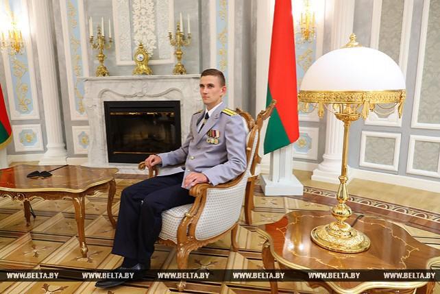 Молодые следователи побывали с экскурсией во Дворце Независимости