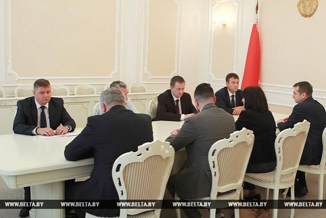 Турчин встретился с членом Коллегии по внутренним рынкам, информатизации, ИКТ ЕЭАС
