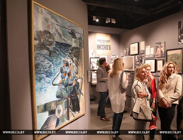 Выставка гомельского художника Георгия Нисского открылась в Москве