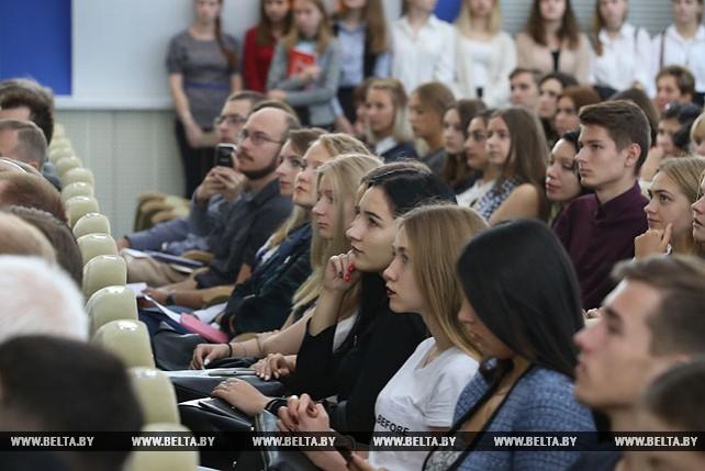 Летняя школа журналистики прошла на Белорусском международном медиафоруме