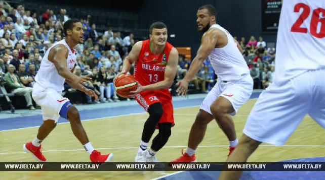 Белорусские баскетболисты проиграли Дании в квалификации к ЧЕ-2021