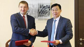 Фрунзенский район Минска и китайский Цзилинь подписали соглашение о сотрудничестве