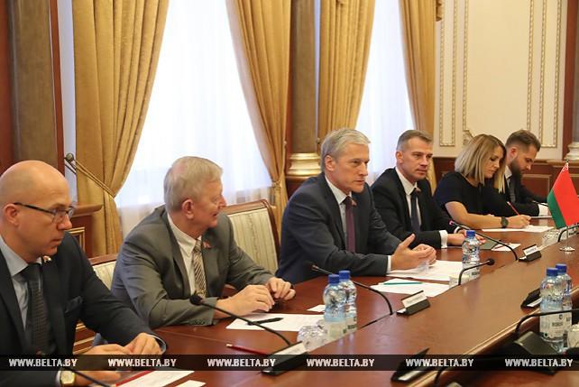Пирштук встретился с заместителем министра иностранных дел Кубы
