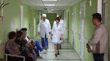 Бригада гомельских врачей прибыла для консультаций и осмотров в Лоевскую больницу