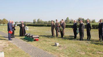 Останки более 200 немецких и венгерских солдат перезахоронили в Березовском районе