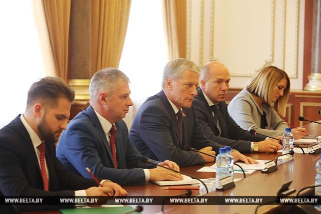 Пирштук встретился с председателем Латиноамериканского парламента