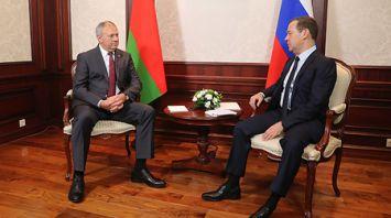 Румас и Медведев встретились в Сочи