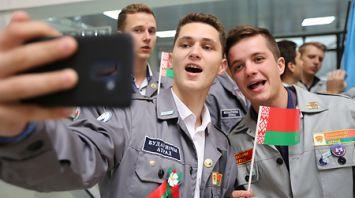 В Полоцком районе проходит слет студотрядов Беларуси и России