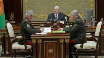 Александр Лукашенко провел встречу со Станиславом Засем и Анатолием Лаппо
