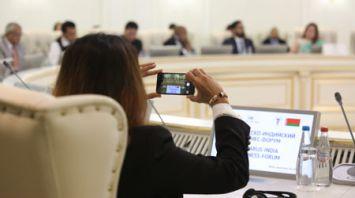 Белорусско-индийский бизнес-форум проходит в Минске