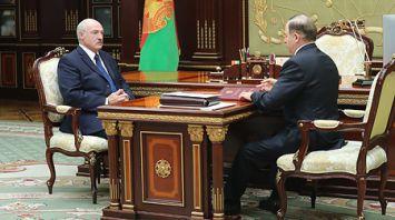 Лукашенко принял с докладом Шеймана по итогам визита в Зимбабве