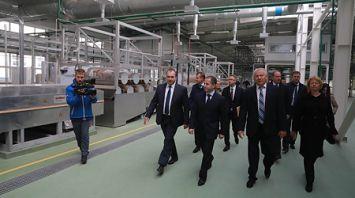 Михаил Бабич посетил Могилев с рабочей поездкой