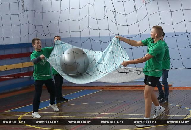 Молодежный турнир по простынболу провели в Гомеле