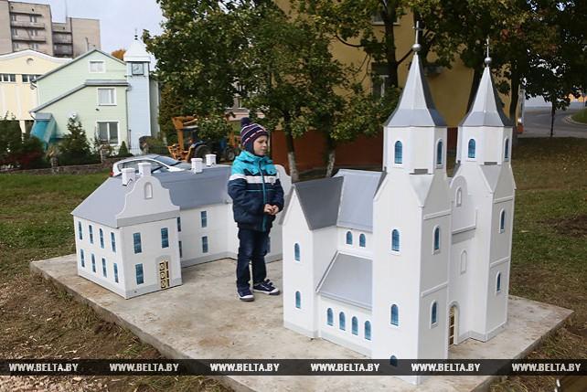 Музей под открытым небом с макетами утраченных исторических объектов появился в Новогрудке