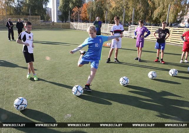 Спортивные классы с футбольной специализацией работают в Рогачеве