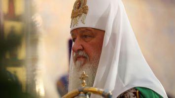Патриарх Кирилл совершил чин Великого освящения Храма-памятника в честь Всех Святых