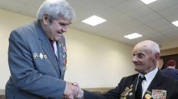 В Лиозно отметили 75-летие освобождения района от немецко-фашистских захватчиков