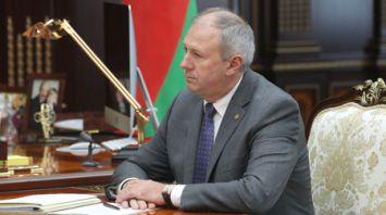 Александр Лукашенко встретился с Сергеем Румасом