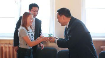Парламентская делегация КНР посетила Республиканскую детскую больницу медицинской реабилитации