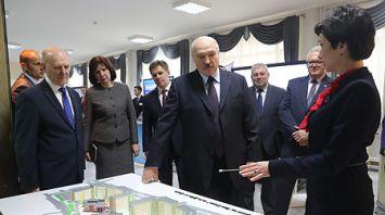 Лукашенко ознакомился с перспективами развития Гродненского госуниверситета им. Янки Купалы