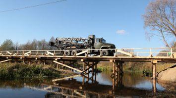 Военные инженеры ежегодно возводят в селах Беларуси по 3-4 малых моста