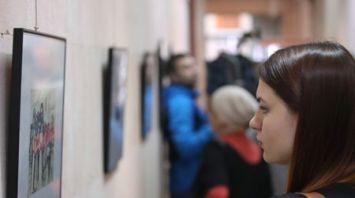 """Выставка """"По ту сторону жизни: немецкая оккупация в графике Меера Аксельрода"""" открылась в Минске"""