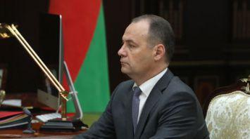Лукашенко провел встречу с председателем Государственного военно-промышленного комитета