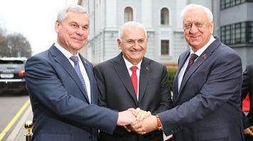 Михаил Мясникович встретился с председателем Великого национального собрания Турции Бинали Йылдырымом